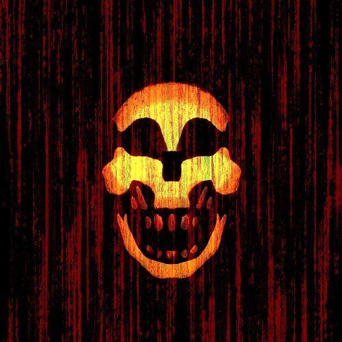 "Le Mercenaire✨💀🎸😏 ""Jungle Work - Warren Zevon ... No People Close-up Night Getting Creative Jack O Lantern Pumpkin Enlightapp Warren Zevon Lyrics Tadaa Community Skull Outdoors"