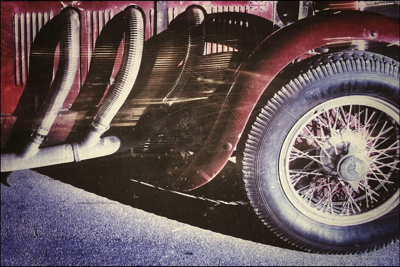 Cropped Image Of Vintage Car