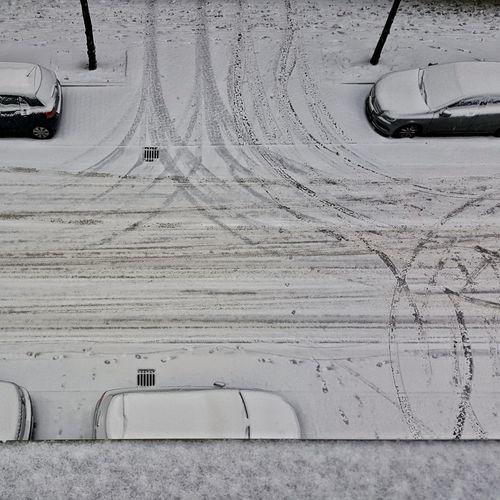 Snowy Berlin , Snow in the Street 365 365project 23of365 23/365