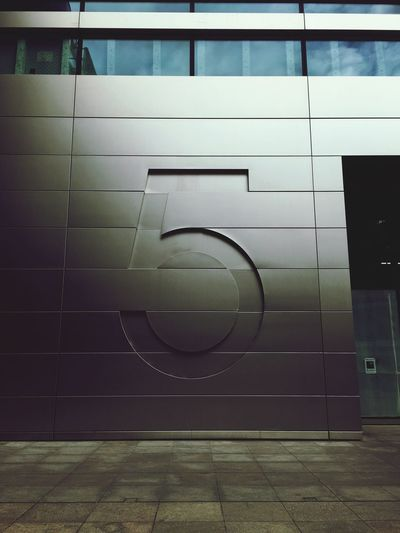 Today is brought to you by the letter number 5 5 Modern Building