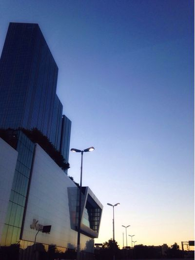Architecture Building Exterior Built Structure Low Angle View Outdoors No People Skyscraper Clear Sky Modern