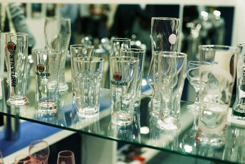 Film Nikon Arrangement Bar - Drink Establishment Bar Counter Business Close-up Container Drink Drinking Glass Film Photography Food And Drink Glass Glass - Material Household Equipment Indoors  Large Group Of Objects No People Refreshment Restaurant Selective Focus Still Life Table Transparent