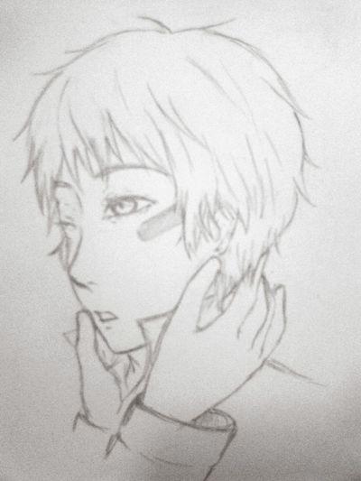 No.6 Anime Fanart Drawing Sketch Shion Illustration Manga Otaku