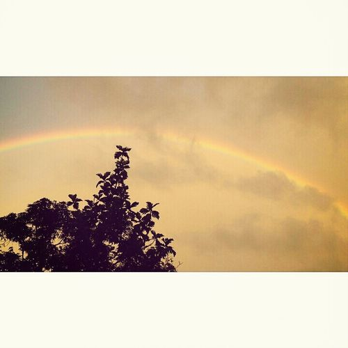The rainbow in the evening Hi! Check This Out Taking Photos Hello World