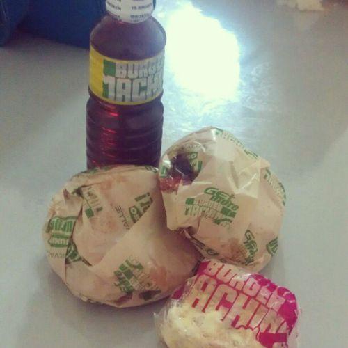 Dinner Burgermachine Jumbochiliburger Icedtea sansrival affordable meals