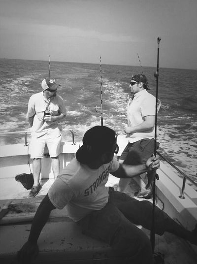 Fishing Ocean Relaxing Enjoying Life Deep Sea Fishing.# SaltWaterLife