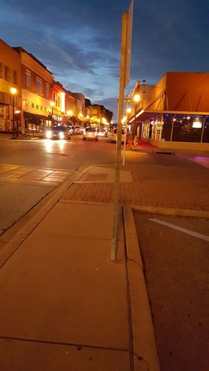 Downtown Night Life Saturday Night City Life Cape Girardeau, MO Main Street Showcase June
