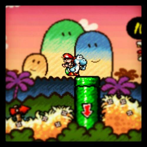 Yoshi azul Snes , Videogames , MarioWorld2