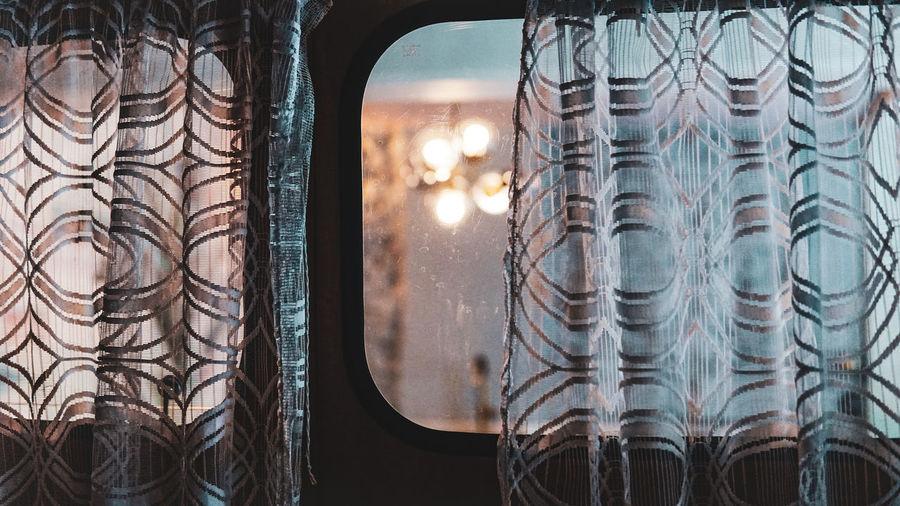 Close-up of glass window