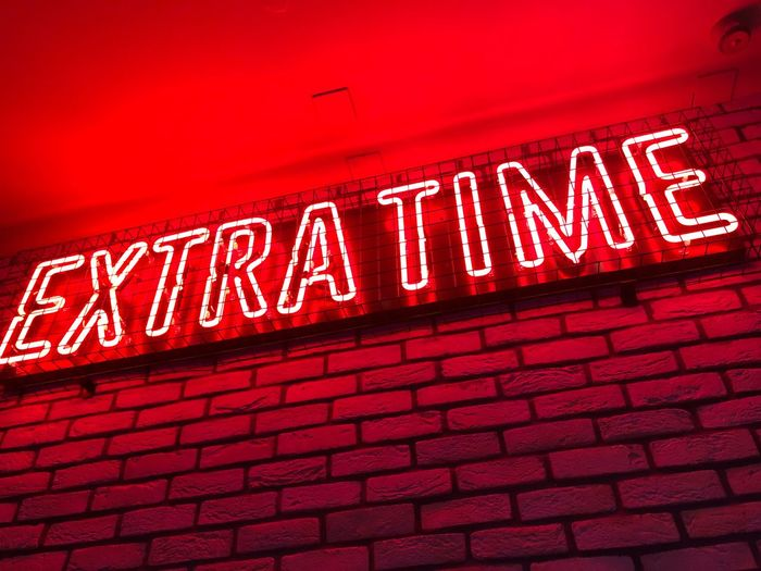 Extra Time Neon