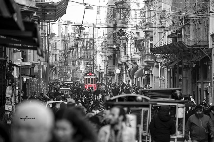 Turkey Istanbul City Street Streetphotography Esteqlal Tramvay People