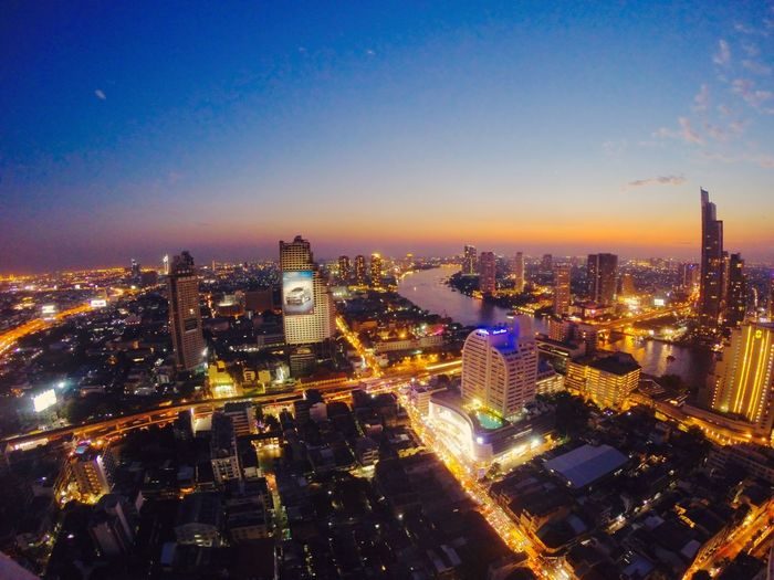 Bangkok Sky Bar - Lebua At State Tower Lebua Bangkok GoPro Hero3+ Goprothailand Allofthelights