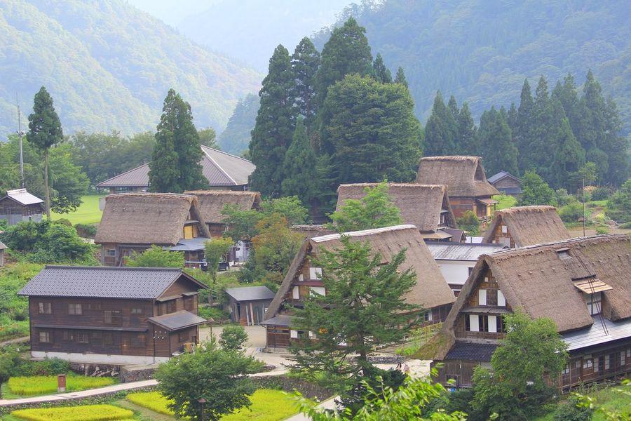 五箇山 相倉合掌集落 五箇山 富山 世界遺産 Gokayama Toyama Japan