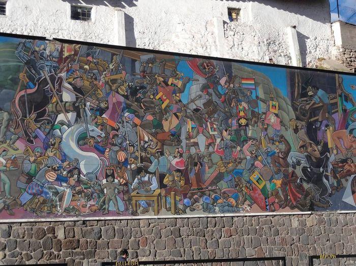 Mural Cusco Peru