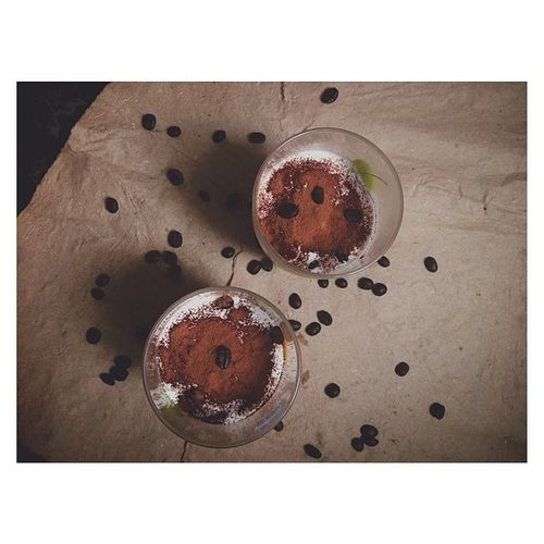 Tranh thủ được nghỉ cả ngày nên giải lao chút chút ?. Todayibake Mousse Chocolate Coconut cocoa dmdecorwcoffeebean coffeebean