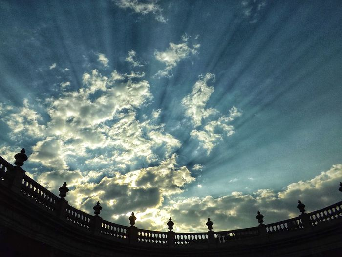 una atardecer Travel Mexico Fotografía Urbana Fotografia Urban Urbano Urbanphotography Astronomy Galaxy Silhouette Star - Space Sky Architecture Cloud - Sky Built Structure