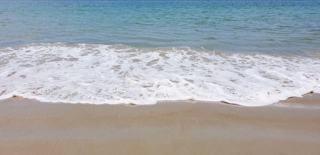 Wave On Sandy Beach Wave Sand Water Wave Sea Beach Sand Blue Summer Sky Close-up Horizon Over Water Sand Dune Seascape Coastline Ocean Sandy Beach