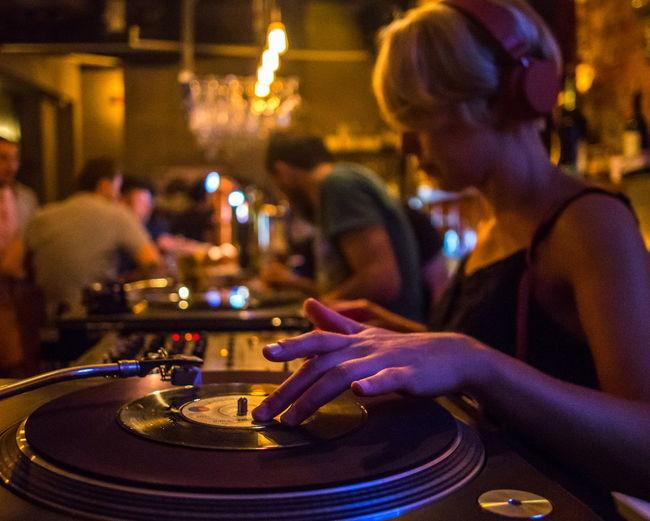 TakeoverMusic Dj Turntable Bar - Drink Establishment Music Arts Culture And Entertainment Club Dj