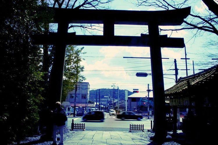 岡崎神社 Shrine Japan 京都 Kyoto 東天王 神社