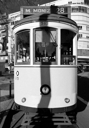Lisboa Portugal Electrico28 Old Transport Welcome To Black