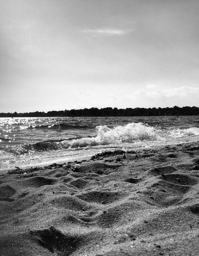 Late summer tide on Long Island Sound Sea Relaxing Enjoying The Sun Sunshine First Eyeem Photo
