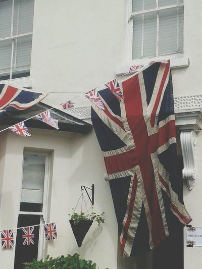 Union Flag Bunting Street