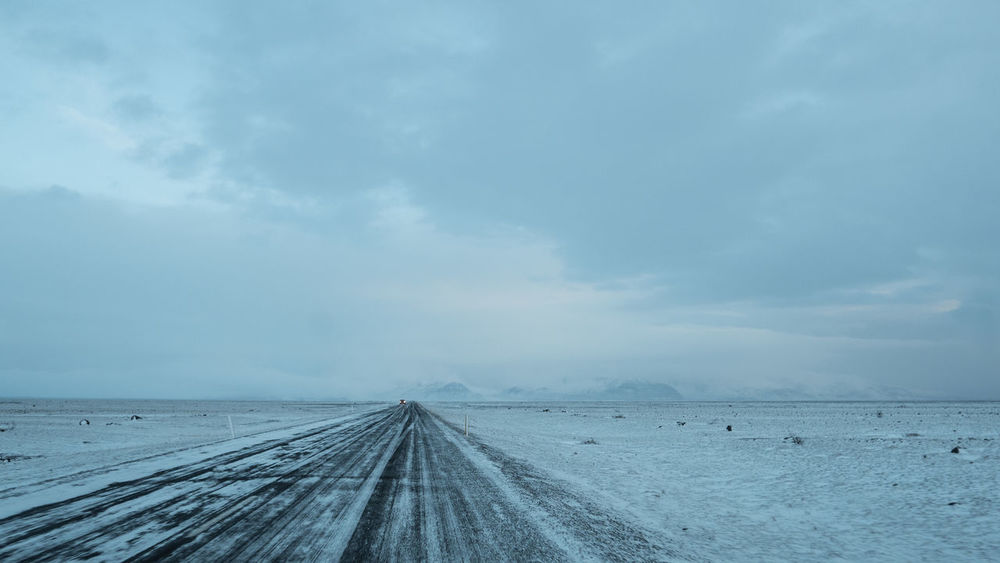 Horizon Over Land Landscape No People Roadtrip Roadtrips Sky Winter