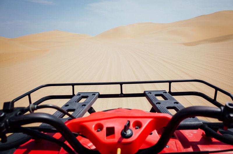 Quadbike At Desert