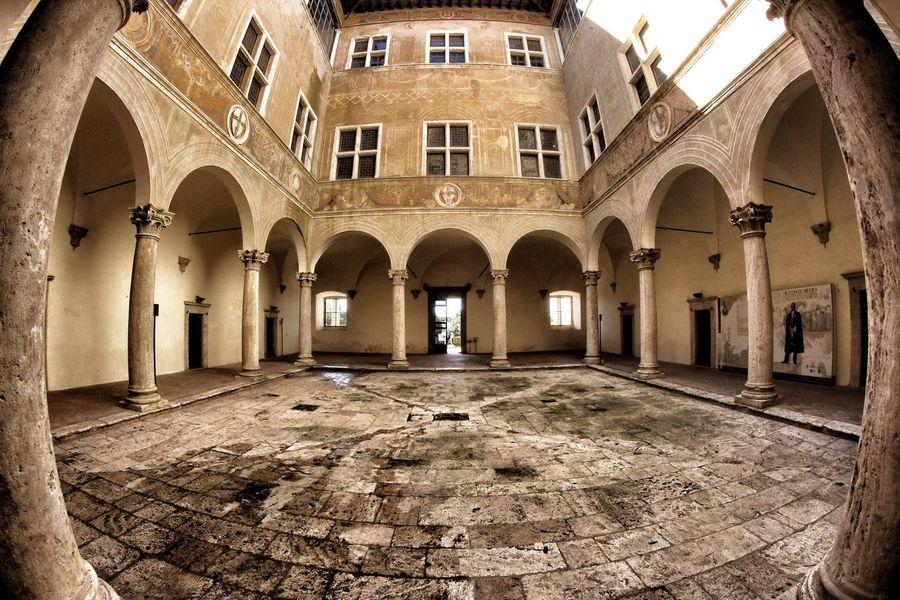 Architecture Palazzo Piccolomini Pienza Renaissance Buildings Siena Siena Country Tuscany Val D'orcia