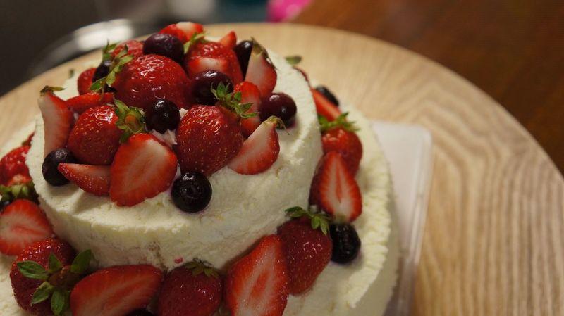 Happy birthday!! Hand made cake. Birthday Cake Handmade