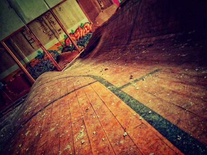 Warped. STL Urbex Abandoned School Warped Floor