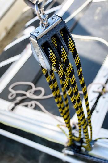 Close-up Day Hobbycat No People Outdoors Sailing Sailing Ship Sea Sport