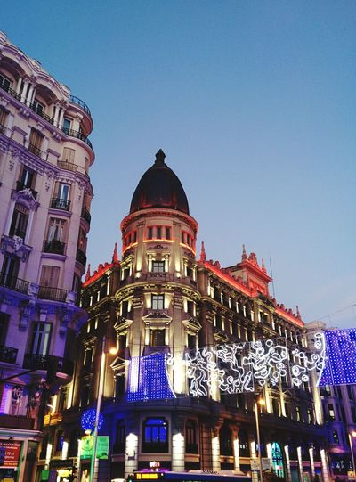 Madrid Gran Via Casino Arquitecture