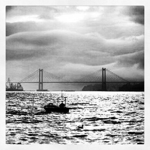 Galicia Bridge Beach Sunset Redondela rande instagramer igersvigo