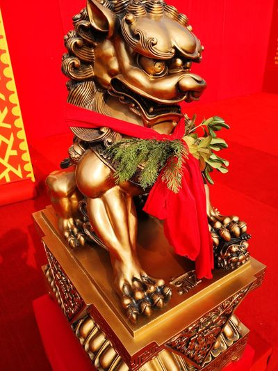 new year Indoors  Red No People Christmas Decoration Statue Close-up Day