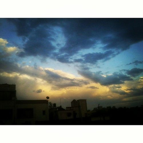 Sky Sunsettime Sunset Beautifulsky Clouds Magicalsky Afterrain Rain Colouredsky Instapic Instashare India Indiagram Instaindia Instasunset