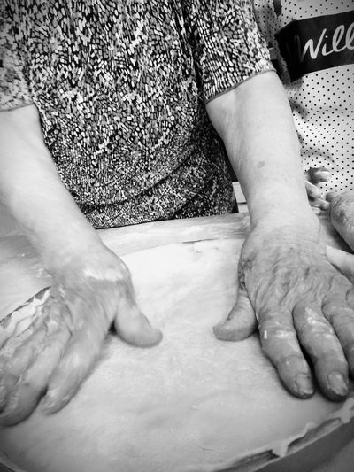 Blackandwhite Baking Handmade Bakery Hands Expert IPhoneography Retrica