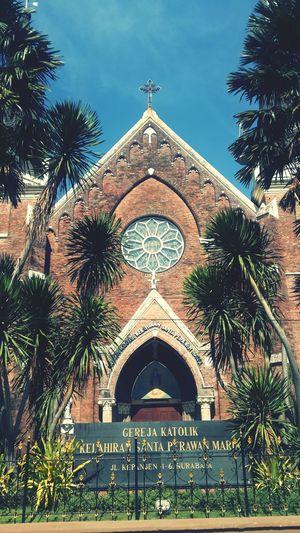 Church Architecture Vintage Sunday Mass