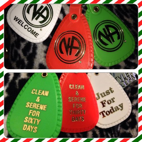 NarcoticosAnonimos Narcotics Anonymous Clean And Serene Sobriety  Sober  Loving Life! Tags White Red Green