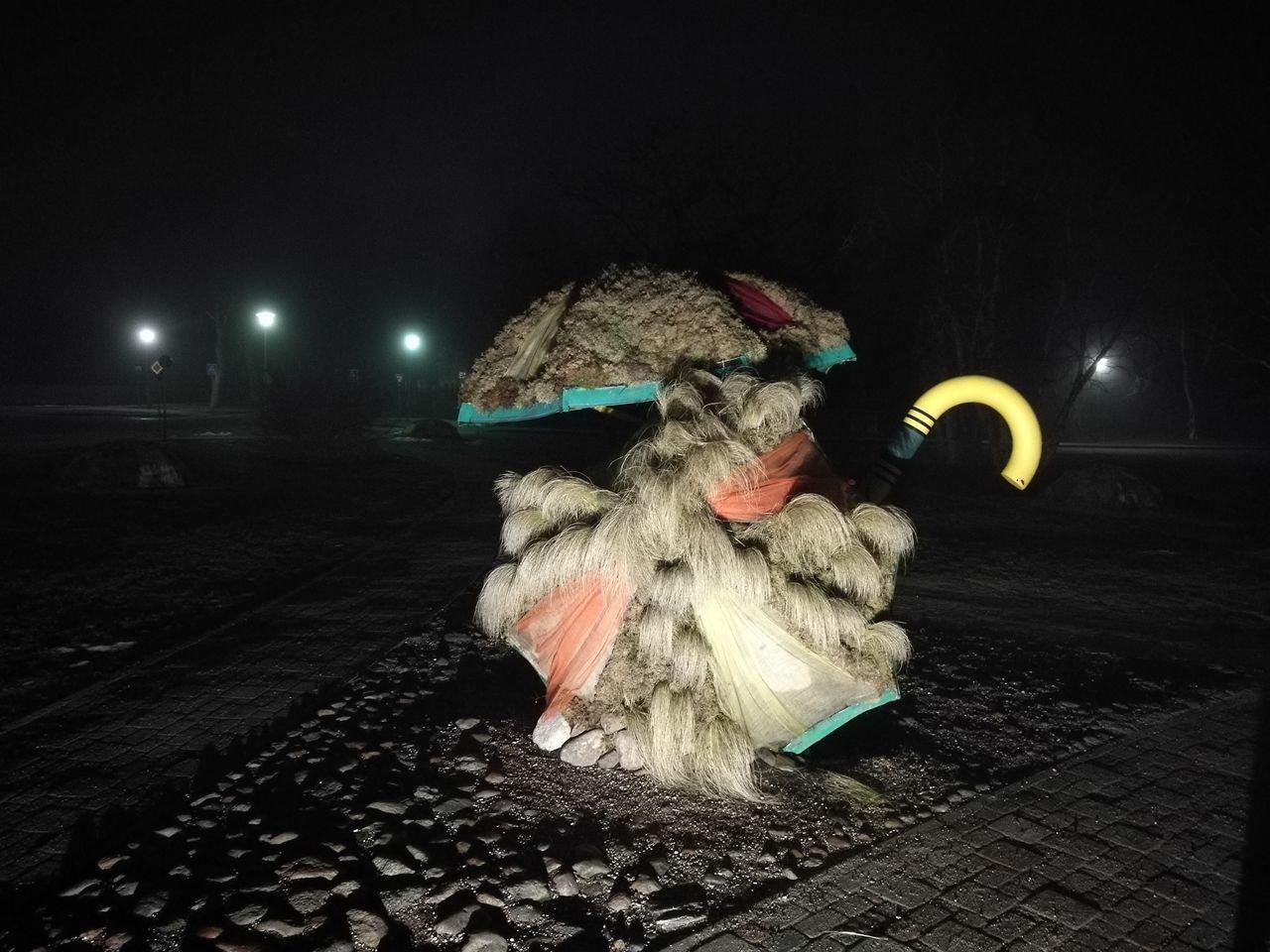 night, illuminated, costume, celebration, no people, outdoors