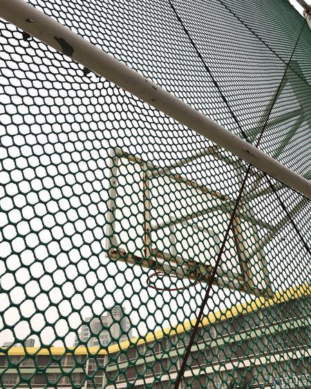 Pattern Metal Basketball Stadium Schoolyard Field Sportsground