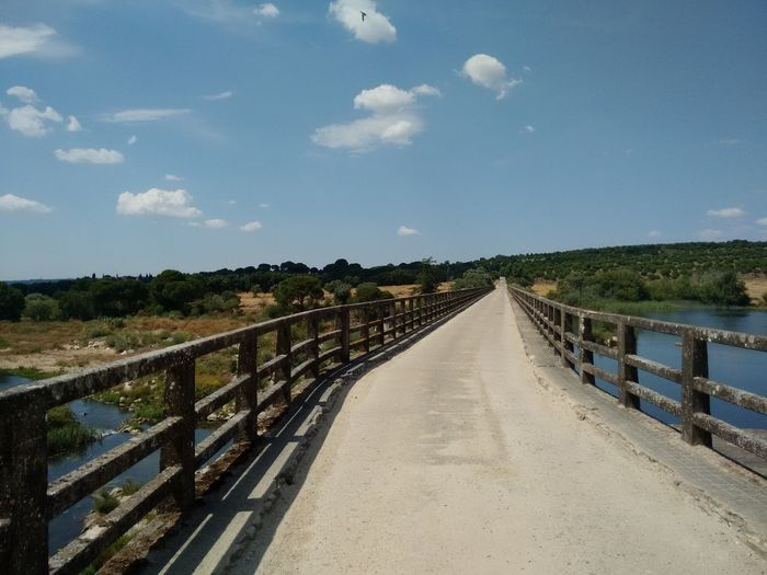 Bridge Bridge View Over The River Sand In My Shoes Nature Açude Alentejo,Portugal Portugal Is Beautiful It Was SOOO HOT! Walking On Sunshine Summer Summertime Summer 2016