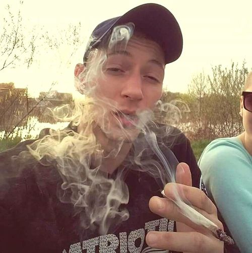 SMOKE WEED EVERYDAY !. ONe LovE!. PEACE!. DON'T KILL MY VIBE ! One Person Nature Real People Sky People Autumn Love Adult Father Togetherness Prosto Weed Life Child Children Only Girls Teenager Childhood Boys One Girl Only Portrait Females Outdoors Day Blond Hair Adult