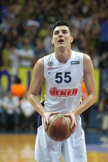 Emirpreldzic Basketballplayer Self Portrait Fenerbahçe ülker