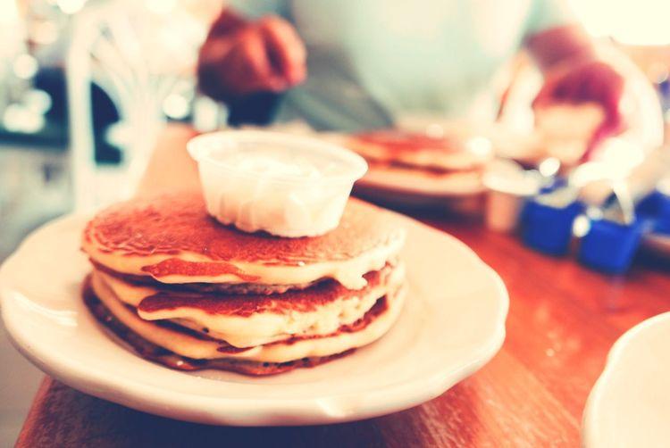 Time For Breakfast  Pancakes Breakfest Travelling Photography Ricardo Barbosa Waking Up