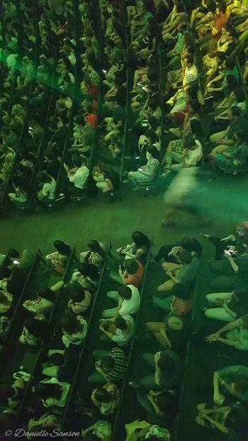 Photodaniellesanson Teatre  Greenlight Curitiba, Brazil Operadearame Danisan_green