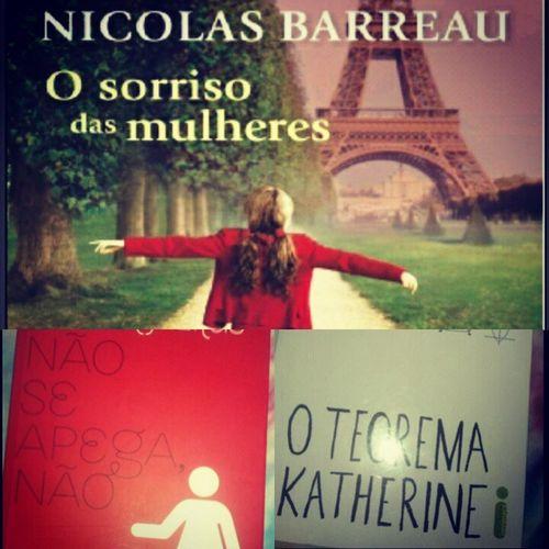 Lidos em Janeiro: Nicolas Barreau- O Sorriso das Mulheres. Isabela Freitas- Não se Apega Não. John Green-O Teorema Katherine. Books Finish Oteoremakatherine OSorrisoDasMulheres Nãoseapeganão