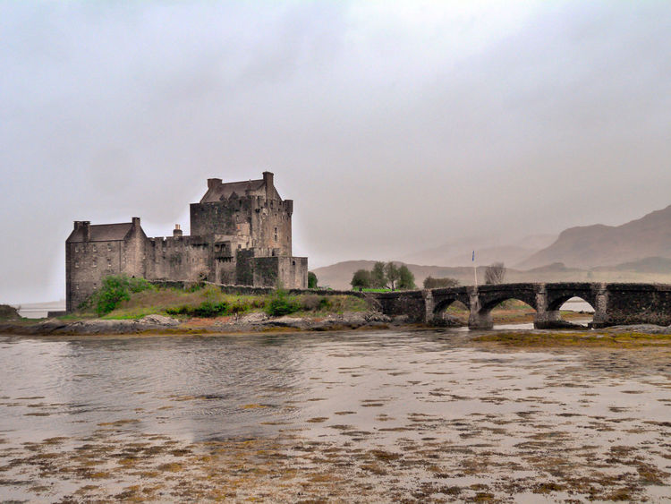 Architecture Bridge - Man Made Structure Building Exterior Built Structure Connection Day History Nature No People Outdoors River Scotland Scottish Castle Sky Water Waterfront