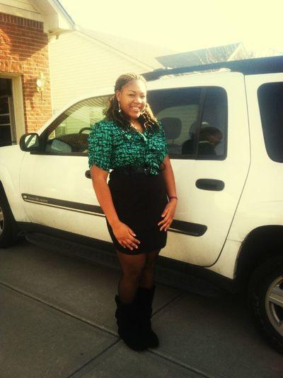 New dress && My truck !!!!!