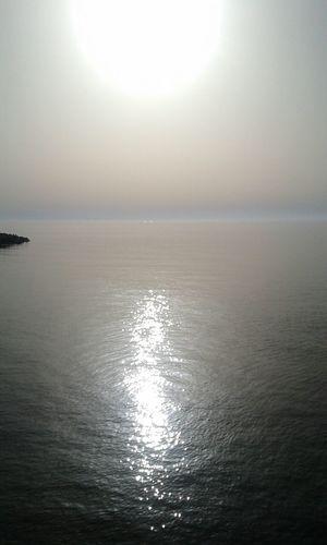 Sunset Sea Life Is A Beach Sunrise